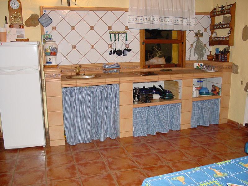 Naturarural casa el mirador de doramas - Cocinas rusticas de mamposteria ...
